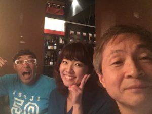 フィットネストレーナー林不二夫さんと谷口美和子さん