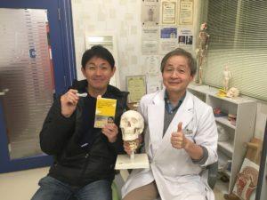 堀尾邦彦さんと顎関節症マウスピース